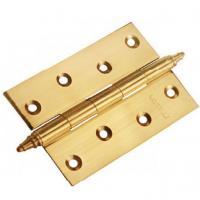 Петля стальная универсальная с короной Morelli MS 100X70X2.5-U золото