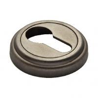 Накладки на ключевой цилиндр MORELLI MH-KH-CLASSIC мат. серебро