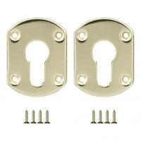Декоративная накладка на цилиндр Fuaro ESC-031 золото