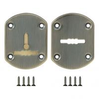 Декоративная накладка на сувальдный замок Fuaro ESC-021 мат. бронза