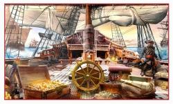 фреска детская «Пираты» в магазине «Аркон»