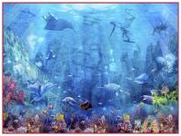 фреска «Морское дно» в магазине «Аркон» Кириши