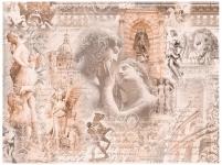 фреска «Коллаж сульптура» в магазине «Аркон» Кириши