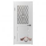 Двери Честер 15 ДОО белая эмаль