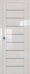 Двери 45L-магнолия-стекло графит